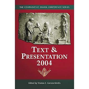 Tekst og presentasjon 2004 av Stratos E. Constantinidis - 97807864220