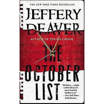 The October List (large type edition) by Jeffery Deaver - 97814555496