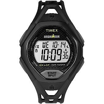 Tw5M10400, Timex Mens Tw5M10400 Ironman Sleek 30 Full-Size Black Sport Watch