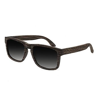 Earth Wood Whitehaven Polarized Sunglasses - Ebony/Black
