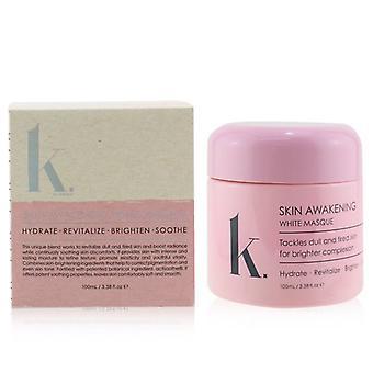 K. Series Skin Awakening White Masque - Hydrate Revitalize Brighten & Soothe - 100ml/3.38oz