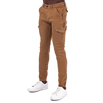 Pantalon cargo Ring's Ringspun Barrack Super Skinny Twill Cargo Pant en crème