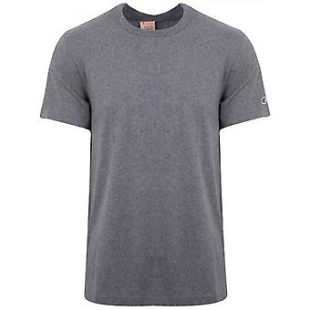 Champion Reverse Weave Grey Arm Logo T-Shirt