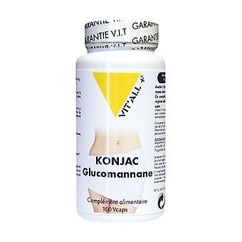 Konjac glucomannan 500mg 100 capsules