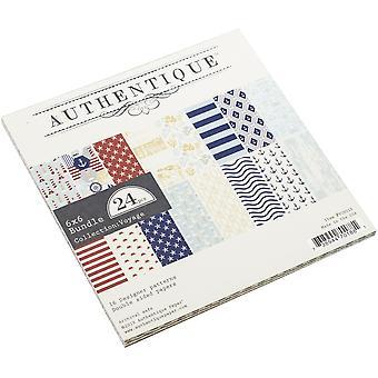 Authentique Voyage 6x6 palcový papír pad