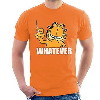 Garfield welke nagel muur Scratch mannen ' s T-shirt
