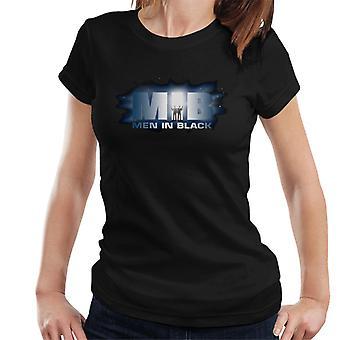 Men In Black Stars Logo Women's T-Shirt