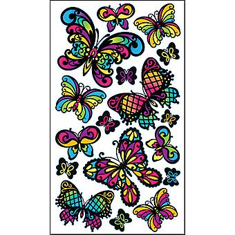 Sticko Stickers-Stained Glass Butterfly
