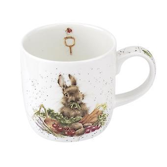 Wrendale 'Grow Your Own' Rabbit Mug