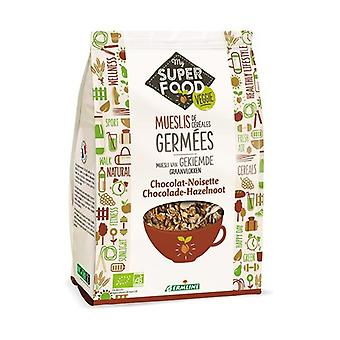 Chocolate hazelnut sprouted cereal muesli 350 g