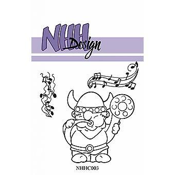 NHH Design Singing Viking Clear Stamps