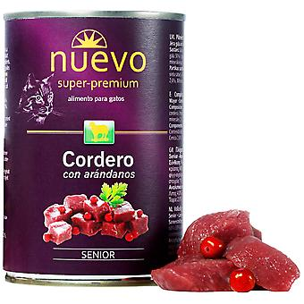 Nuevo Lata Senior Cordero (Cats , Cat Food , Wet Food)