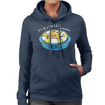 Gudetama Svømning Kvinder&APOs;s Hætteklædte Sweatshirt