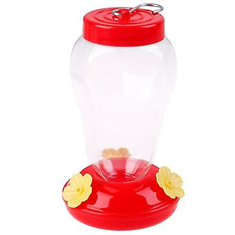 Plastics Bird Water Feeder Bottle, Hanging Hummingbird Feeder- Garden Outdoor