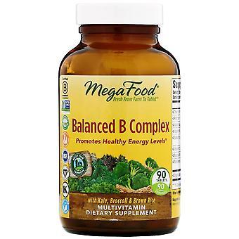 MegaFood, Balanced B Complex, 90 tabletten
