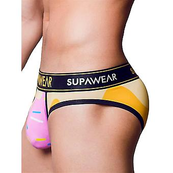 Supawear Sprint Letter Strawberry Mint | Men's Underwear | Men's Slip