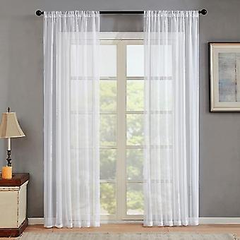Curtains For Living Room Decoration - Modern Window Sheer Curtain