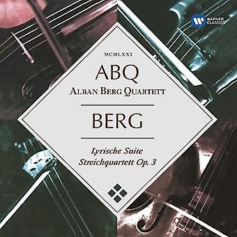 Berg / Alban Berg Quartett - Lyric Suite [CD] USA import