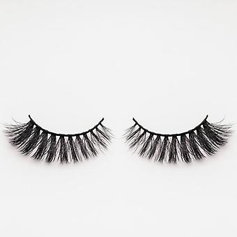 xoBeauty Faux Mink False Lashes - Panther - Incredible 3D Design and Volume