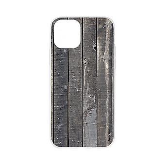 Case Voor iPhone 11 Flexibel Effect houten planken