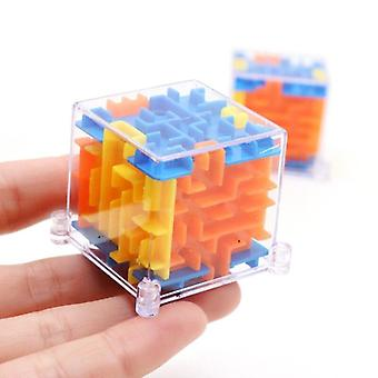 Cuburi de plastic Ball Mini 3d Magic Kids Magical Labirint Joc Puzzle Autism Jucării Copii