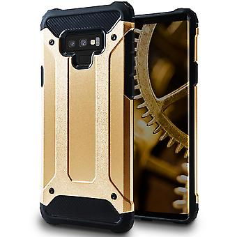 Mobile Protection for Samsung Galaxy Note 9 | Hard Hybrid Shell in Gold