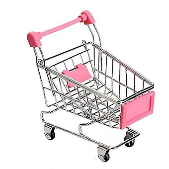 Creative Mini Handcart- Simulation Small Supermarket Shopping Cart Play