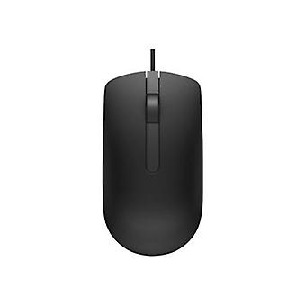 Dell Ms116 Wired Usb Optical Mouse Black