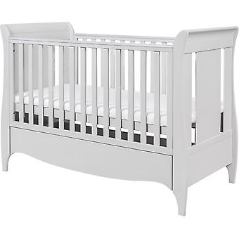 Tutti Bambini Roma Sleigh Cot Bed with Drawer