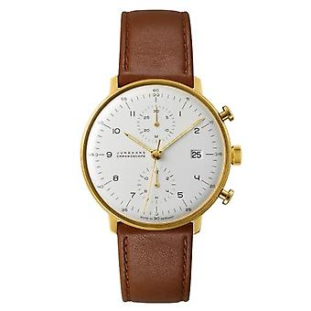 Junghans max bill Chronoscope Watch for Unisex 027/7800.00