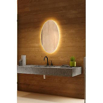 Zuras Audio Backlit Mirror with Sensor, Demister & Shaver Socket CW