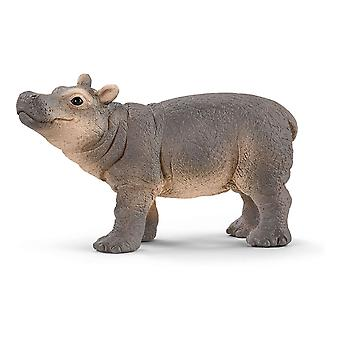 Schleich Baby Hippopotamus Wild Life (14831) - Barn Leksak