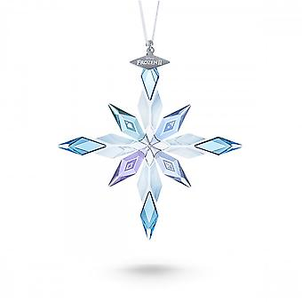 Swarovski Light Multi Coloured Frozen 2 Snowflake Ornament Character 5492737