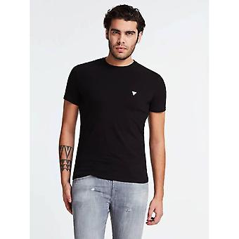 GUESS Core T-Shirt - Jet Black