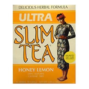 Hobe Labs Ultra Slim Tea, Honey Lemon 24 táskák
