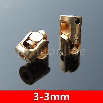 Brass Universal Joints Micro With Wrench Screw Model Car Making