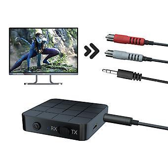 Stoff zertifiziert® Bluetooth 5.0 Sender / Empfänger AUX-Buchse 3,5 mm - Wireless Adapter Streaming Audio