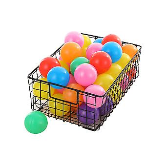 Plastic soft balls for children pit-hole balls multi-color soft balls for indoor and outdoor games