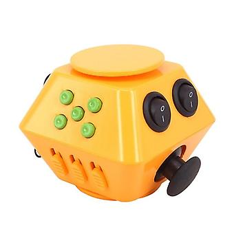 New Spinner Antistress Magic Cube Relieve Anxiety Boredom Finger  Toy