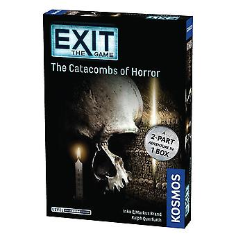 Exit the Game Catacombs of Horror Card Game