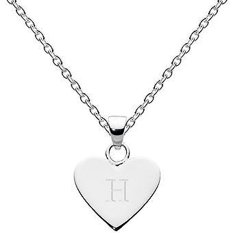 Dew sterling zilver Dinky hart alfabet hanger 9091HPH013