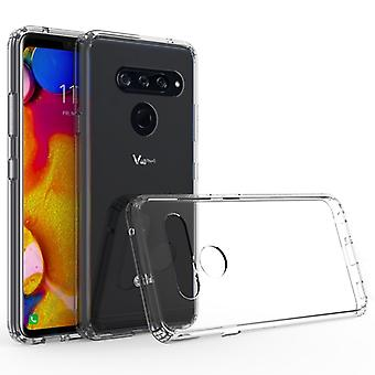 Scratchproof TPU + Acrylic Protective Case for LG V40(Transparent)