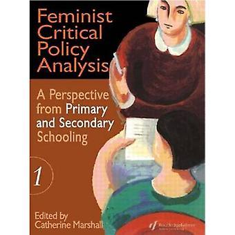 Feministinen kriittinen politiikka-analyysi I-kirjoittaja Catherine Marshall - 978075070