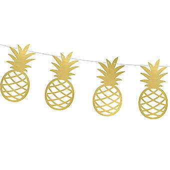 Pineapple or papier Garland 2m Tropical Party Decoration