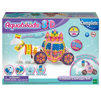 Aquabeads 31363 set de transport cu cristale 3d, colorat