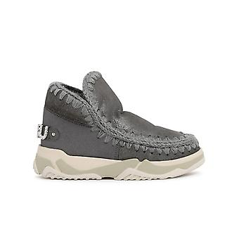 Mou Mufw201013bduiro Women's Grey Other Materials Ankle Boots