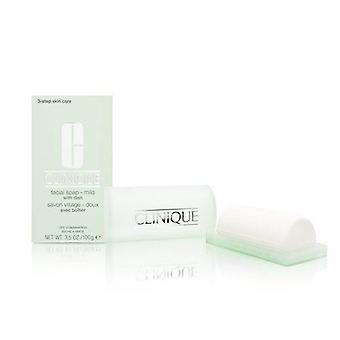 Clinique Facial Soap med skålen-mild 100g/3.5 oz-torr blandhy