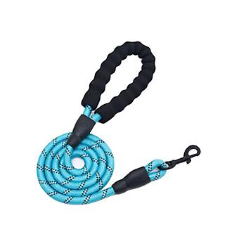 Dog Leash Comfortable Grip Nylon Reflective Leash Pet Gear for Small Medium Dog