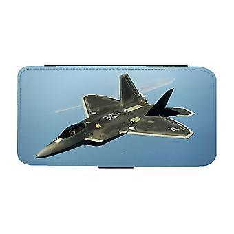 F-22 Raptor Jaktflygplan iPhone 12 Mini Plånboksfodral