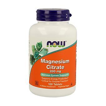 Magnesium Citrate 100 capsules